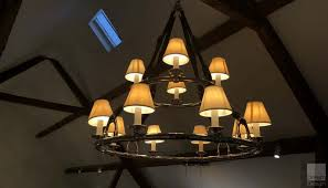 ralph lauren home westbury double tier chandelier ex display