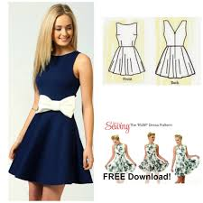 Dress Patterns Free Custom Interesting Dress Patterns Free 48 For Expensive Dress With Dress