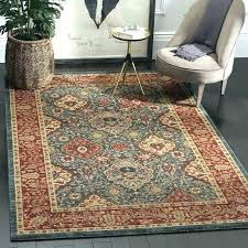red blue rug and brown alto area couch white charger with for blue and brown rug