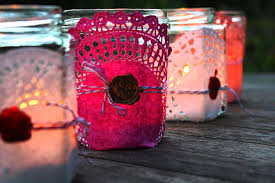 Decorated Jam Jars For Christmas Jam Jar Lanterns Craft Ideas Pipii 60