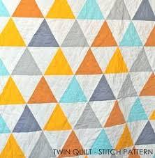 Reunion Triangle Quilt | Tamarack Schack | Sixty Degree Triangle ... & cool triangle stitch pattern Adamdwight.com