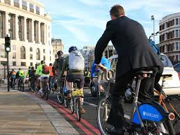 Image result for bicycle to work images