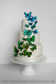 Butterfly Wedding Cake Cakes By Natalie Porter Hertfordshire