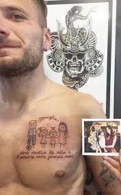 Calciatori E Tatuaggi Quando La Famiglia Viene Prima Di Tutto