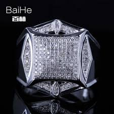 Detail Feedback Questions about BAIHE <b>Sterling Silver 925</b> 0.6CT ...