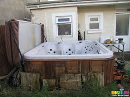 sx21156 used hot tub for