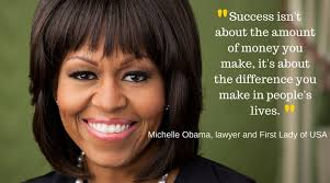 Michelle Obama Quotes Custom INSPIRATIONAL QUOTES BY MICHELLE OBAMA The Insider Tales