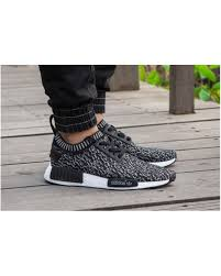 adidas shoes 2017 for men. adidas nmd r1 pk dark grey white rock city kicks men - 2017 shoes cheap sale for