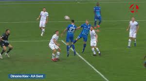 Het journaal 13u moet o.a. het verslag van AA Gent Dinamo Kiev | Champions  League