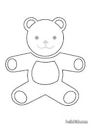 Small Picture Teddy bear Coloring pages Kids Crafts and Activities Free