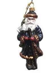 Christbaumschmuck Weihnachtsmann Mit Glocken