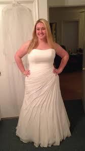 plus size bridal plus size brides please post pics of your dress