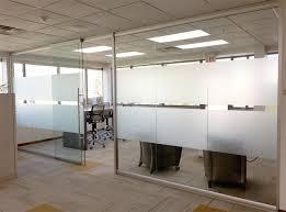 open office glass walls sliding glass door with soft open close mechanism