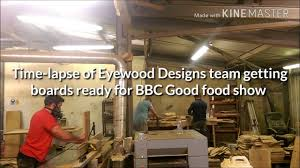 Eyewood Designs Eyewood Designs Time Lapse Making Chopping Boards For The Bbc Good Food Show 11 13th November
