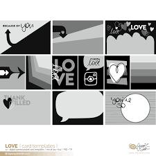 Love Pocket Card Templates