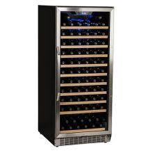 large wine refrigerator. Contemporary Large 23 Inch Wide 121 Bottle BuiltIn Wine Cooler Intended Large Refrigerator E
