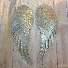 angels wall decor angels wall decor awesome metal angel wings wall decor distressed white of angels