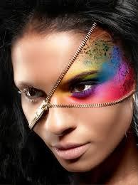 half face makeup you makeup daily