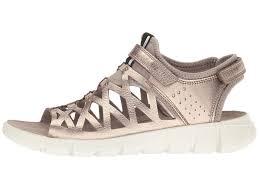 Ecco Bouillon Sandal Light Gold Ecco Walking Sandals Ecco Sport Intrinsic Sandal 2 Womens