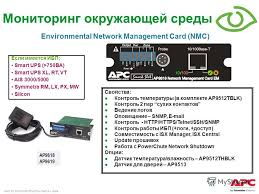 Презентация на тему all content in this presentation is 53 apc by schneider electric date Мониторинг окружающей среды ЕсРи имеется ИБП smart ups >750ВА smart ups xl rt vt ais 3000 5000 symmetra rm