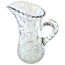 antiques cut glass antique cut glass crystal pitcher antique cut glass bowls value