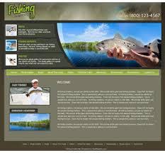 Fishing Guide Web Templates Charter Fishing Wordpress Themes