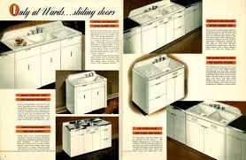 Vintage 1941 Montgomery Ward Metal Kitchen Cabinets Metal Kitchen