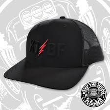 KTBF Black Snapback Hat - Keep It Floored, LLC | The Bitch
