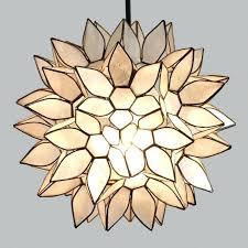 capiz hanging light small lotus pendant shade world market attractive light intended for capiz hanging lights capiz hanging light