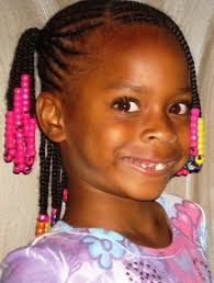 little black s braided hairstyles with beads