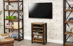 industrial media furniture. small industrial media unit see more furniture at big blu