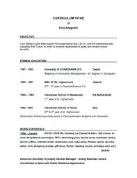 Objective For Resume Server Career Objective Resume Examples Elegant How To Write A General On 7