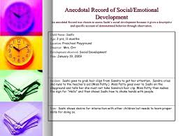 anecdotal records essay examples of anecdotes in essays