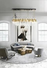 even if you prefer a simpler style you can incorporate a chandelier into your home décor this one a very modern chandelier is the perfect choice