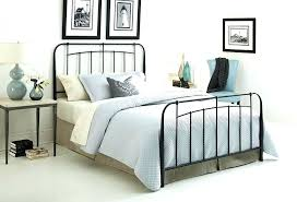 Target Bed Frames Queen White Metal Full Bed Decoration Marvelous ...