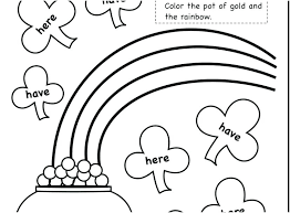 Coloring Pages For Kindergarten Sight Word Coloring Pages
