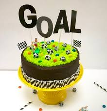 Football Birthday Cake Kit Parentville Kids Parties Big Parties