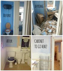 Before And After DIY Bathroom Renovation Ideas - Bathroom remodel before and after pictures