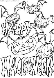 Small Picture Halloween Coloring Pages 18 Coloring Kids