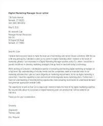 Executive Cover Letters Samples Best Marketing Cover Letter Samples Sample For Example 2 Experience