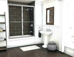 hotel style shower curtain diffe styles of curtains decorating list over sliding glass doors beautiful bathroom