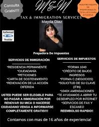 M&M Tax and Immigration Services - Tax Preparation Service - East  Porterville, California - 4 Photos   Facebook
