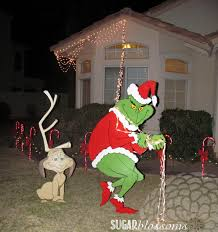Grinch Stealing Lights Pattern