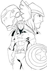 Avengers Coloring Page Free Printable Avengers Coloring Pages