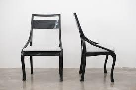 Black laquer furniture Dining Mc Black Lacquer Chairs Homestead Seattle Mc Black Lacquer Chairs Homestead Seattle