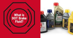 Brake Fluid Comparison Chart What Is Dot Brake Fluid