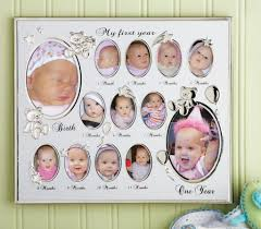 baby month by frame resume picture my first year photo 12 birthday