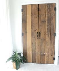 Closet ~ Closet Door Diy White Bypass Closet Doors Projects Closet ...