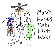 Many Hands Make Light Work Many Hands Make Light Work