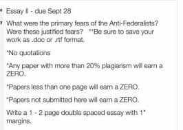 federalists vs anti federalists essay federalist papers